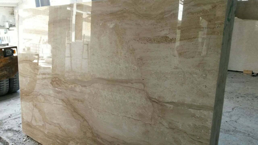 Marble Daino Reale Polishe Beige Marble from Italy