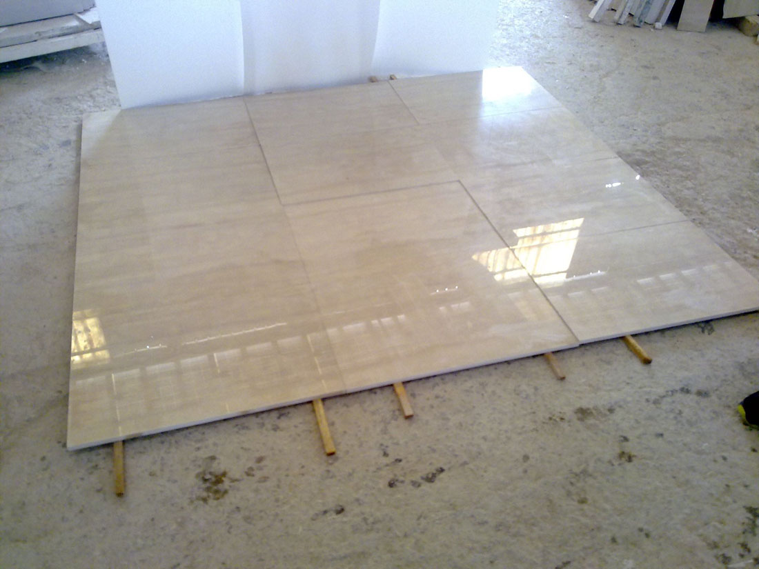 Marble Serpeggiante Italy Beige Polished Tiles