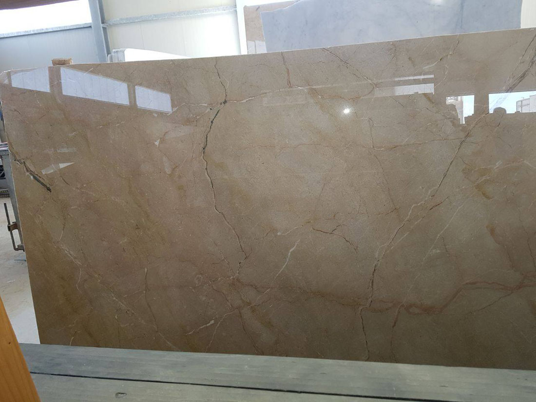 Marble Slabs or Blocks Ivory Marble from Italy