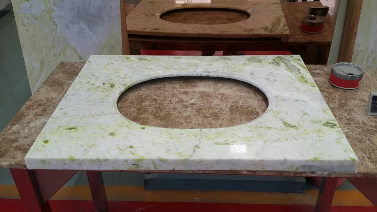 Marble Vanity Top for Bathroom
