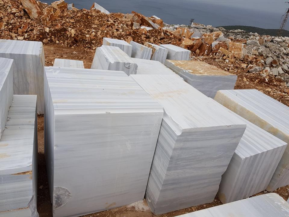Marmara Classic Block White Turkish Marble Blocks