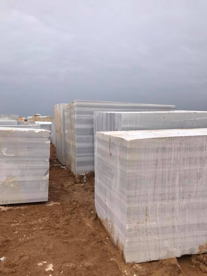 Marmara Classic Blocks White Marble Blocks from Turkey