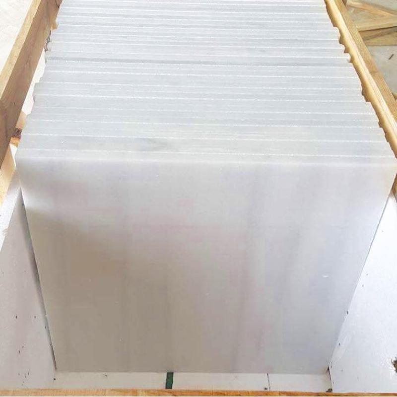 Marmara Panda White Polished Marble Tiles for Flooring
