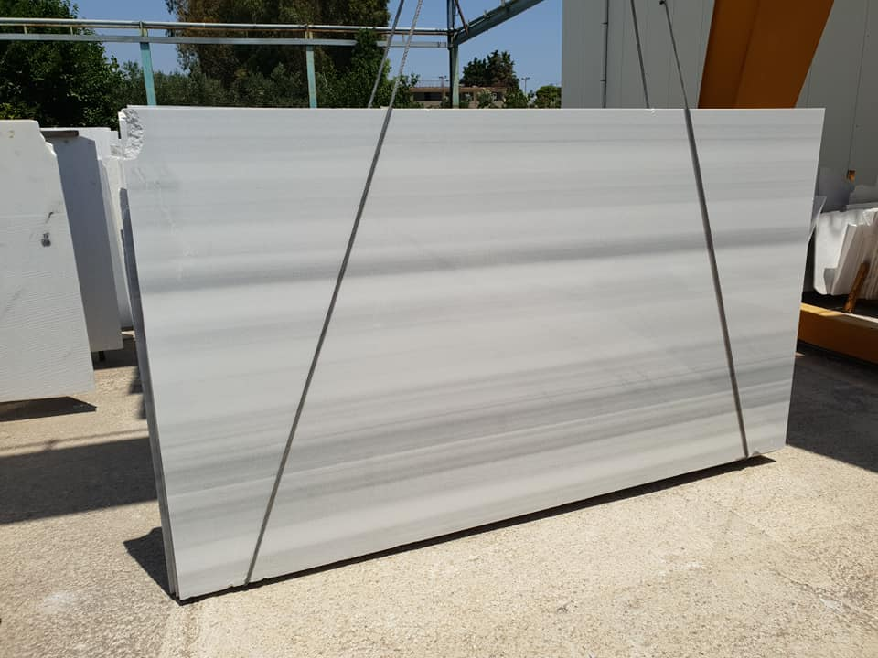 Marmara Semi White Marble Slabs Polished White Slabs