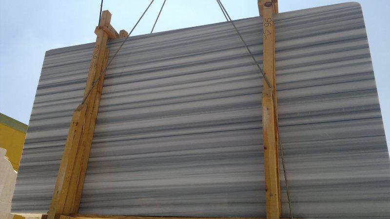 Marmara Veincut Slabs White Polished Marble Slabs