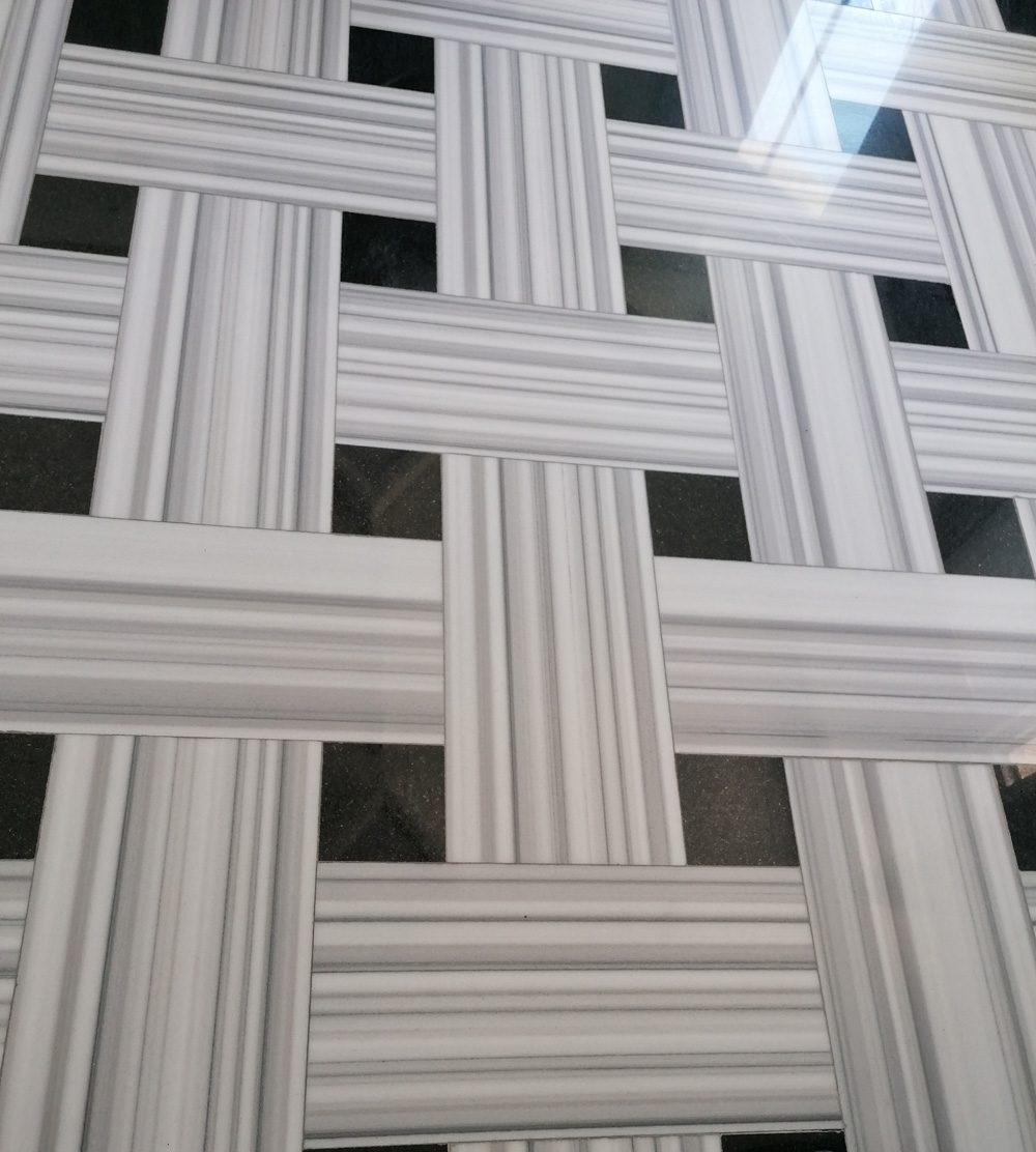 Marmara White Marble Flooring Stone Tiles with Competitive Price