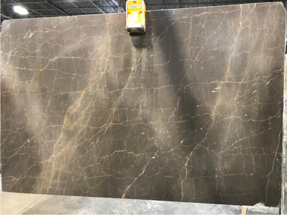 Marron Glace Marble Slabs Spain Brown Stone Slabs