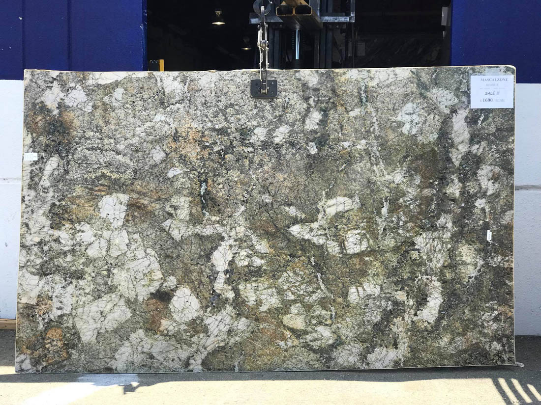 Mascalzone Polished Green Granite Slabs