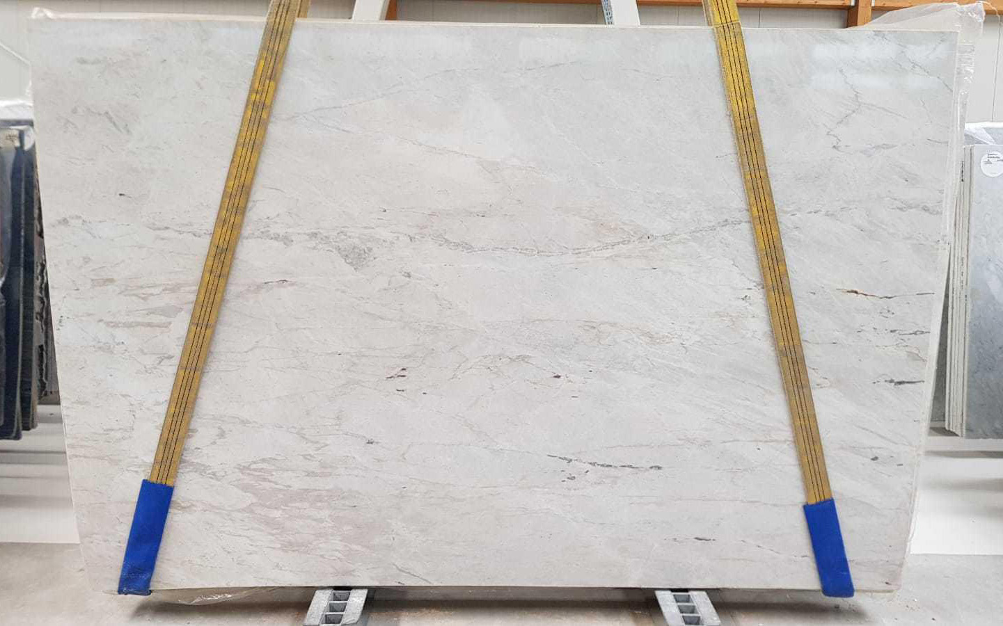 Matarazzo White Polished Quartzite Slabs