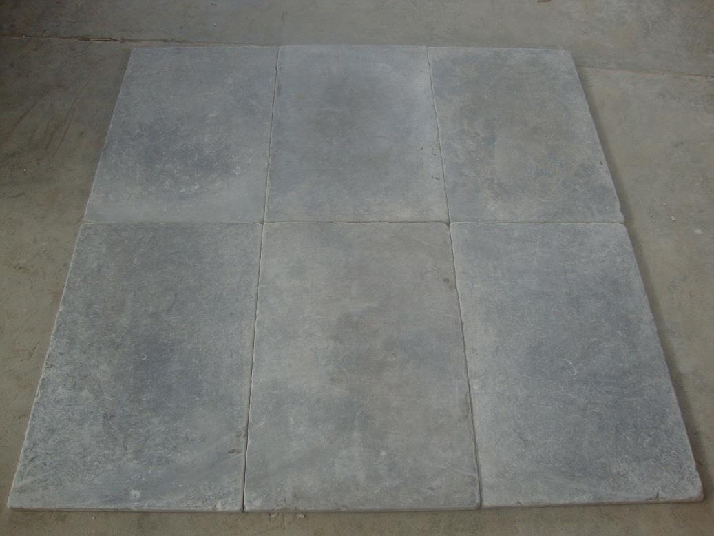 Mele Gray Marble Tiles Tumbled Finish