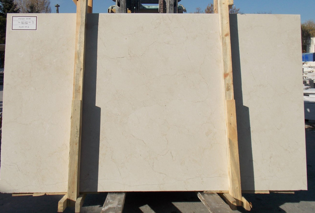 Meleni Beige Marble Slabs Turkish Top Quality Beige Marble Slabs