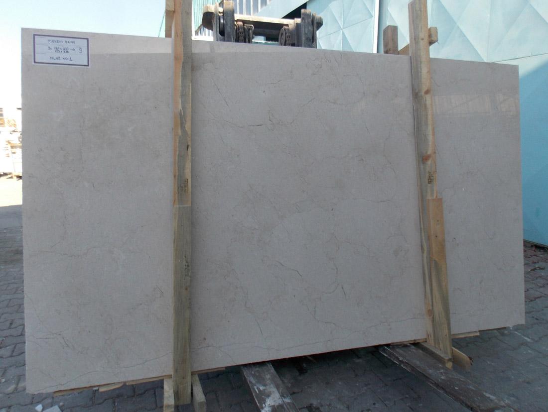 Meleni Beige Polished Marble Stone Slabs