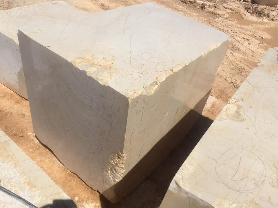Melisa Marble Beige Turkish Natural Stone Blocks