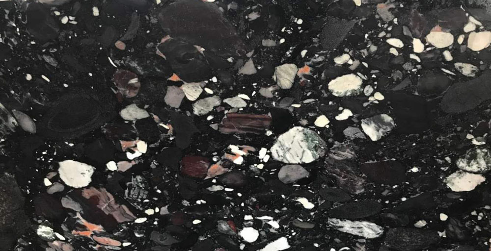 Mercury Black Granite Colors