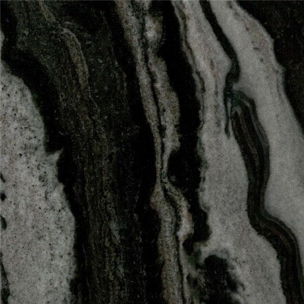 Mercury Black Marble Color