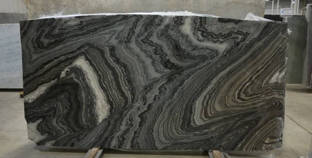 Mercury Black Marble Indian Black Polished Slabs