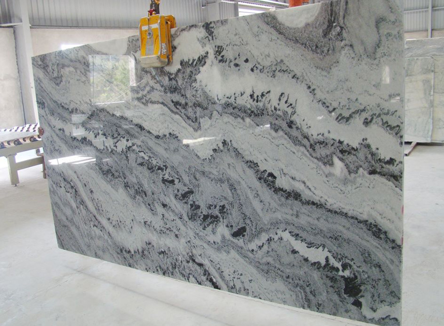Mercury White Marble Polished Marble Slabs from Indian Supplier