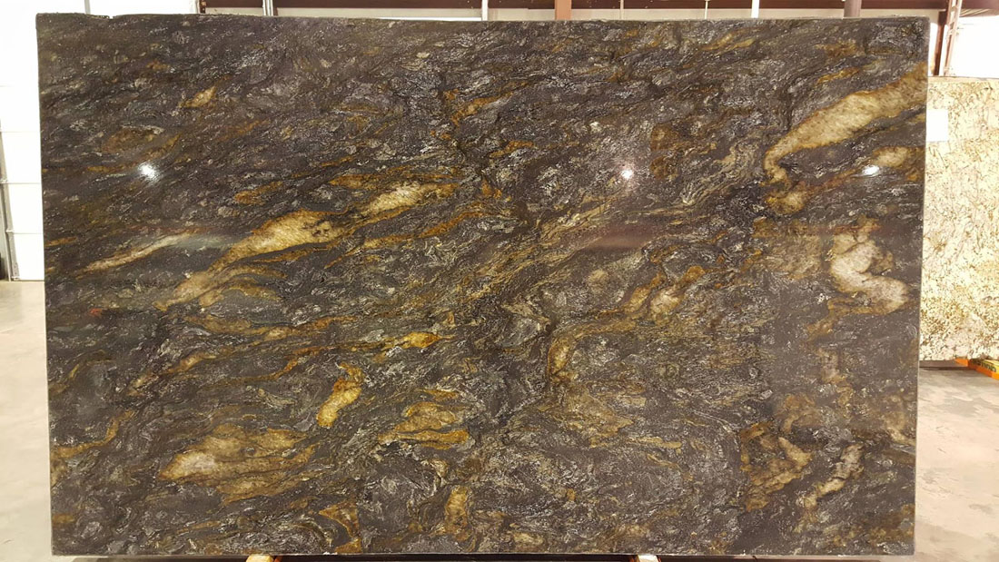 Metallicus Granite Brown Granite Polished Slabs
