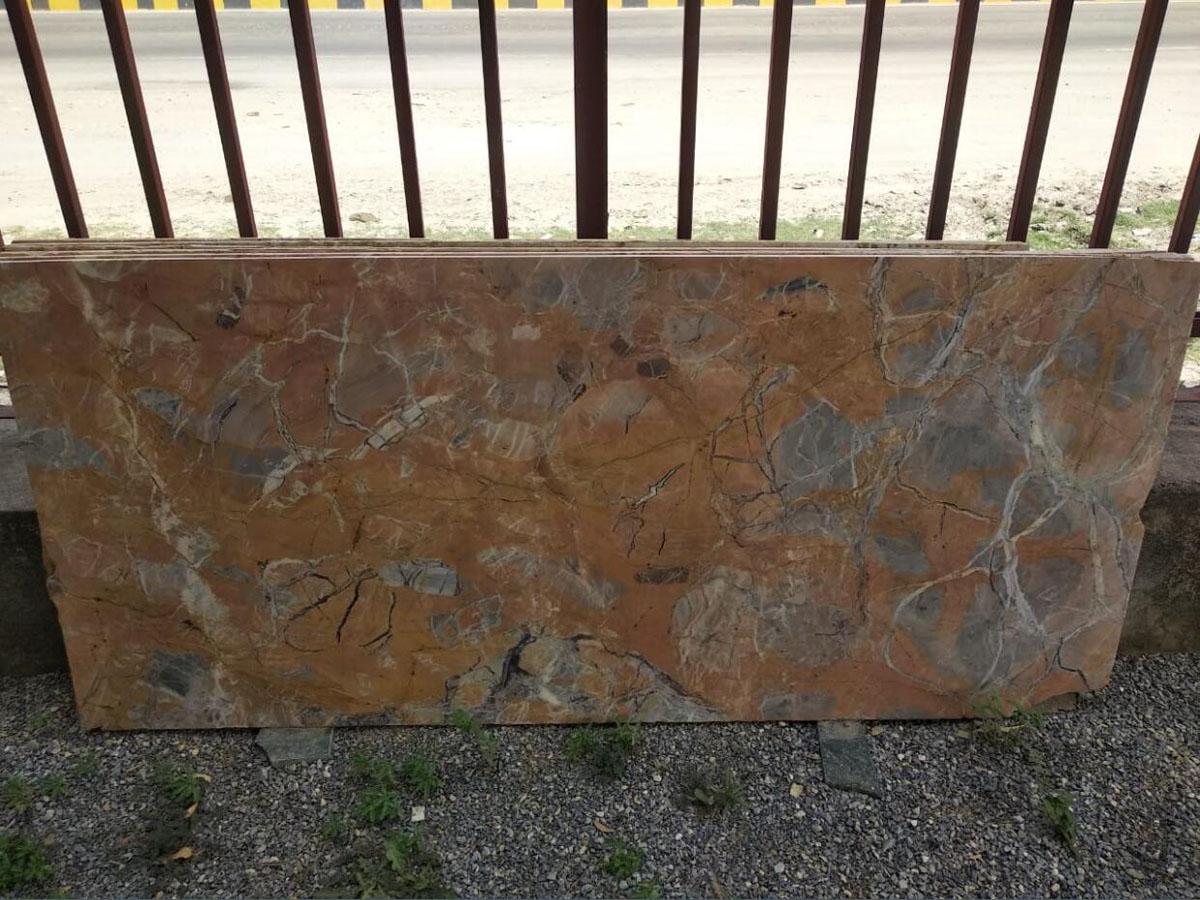 Mica Gold Granite Slab