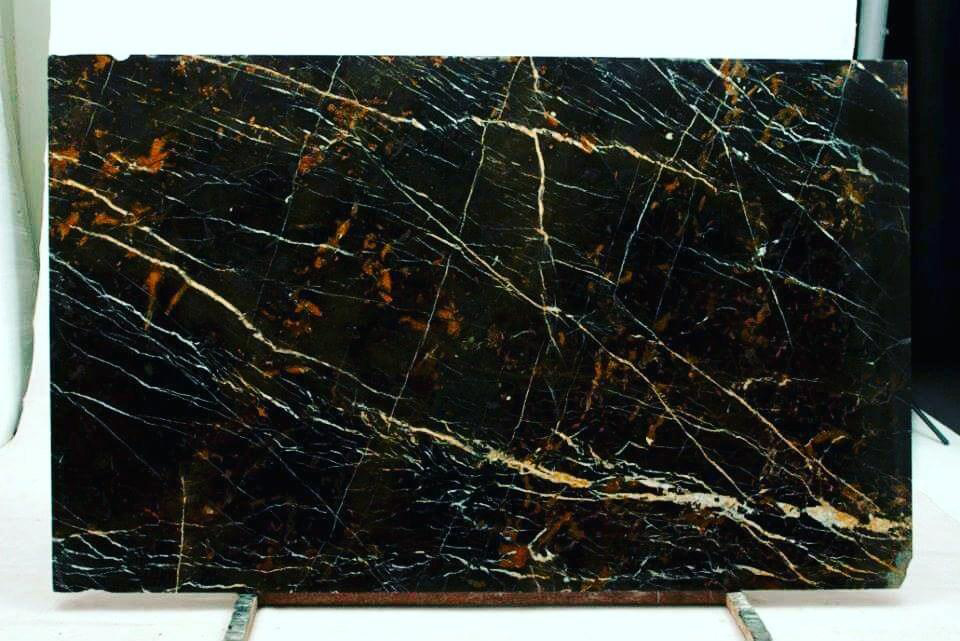 Michelangelo Marble Slab Polished Black Marble Slabs