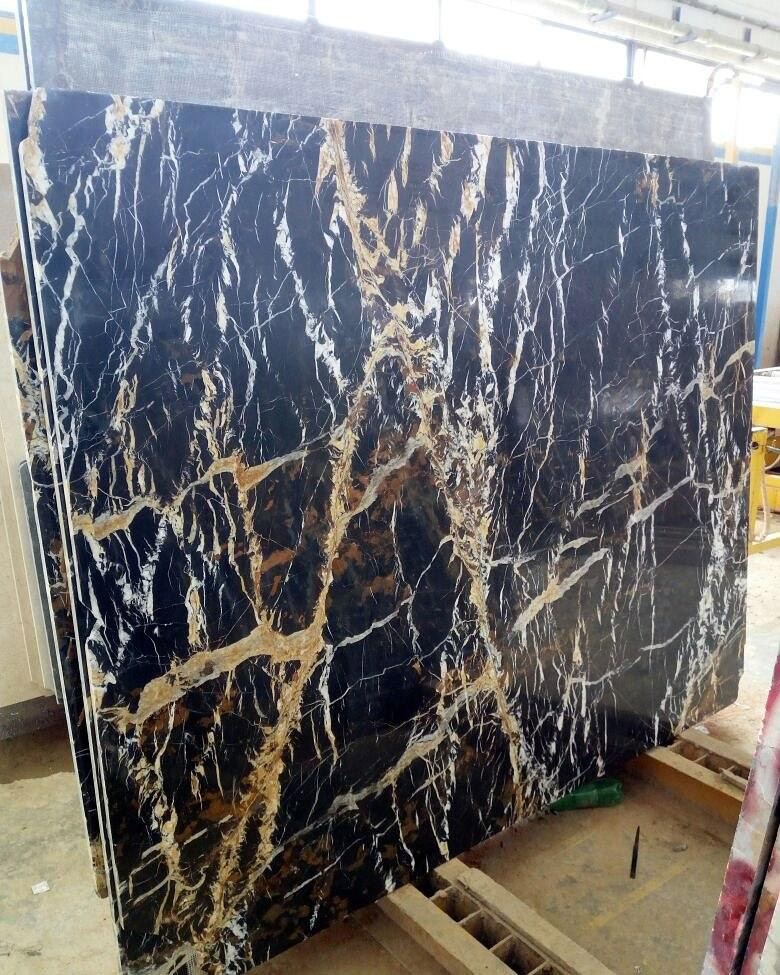 Michelangelo Slabs Pakistan Black Marble Slabs