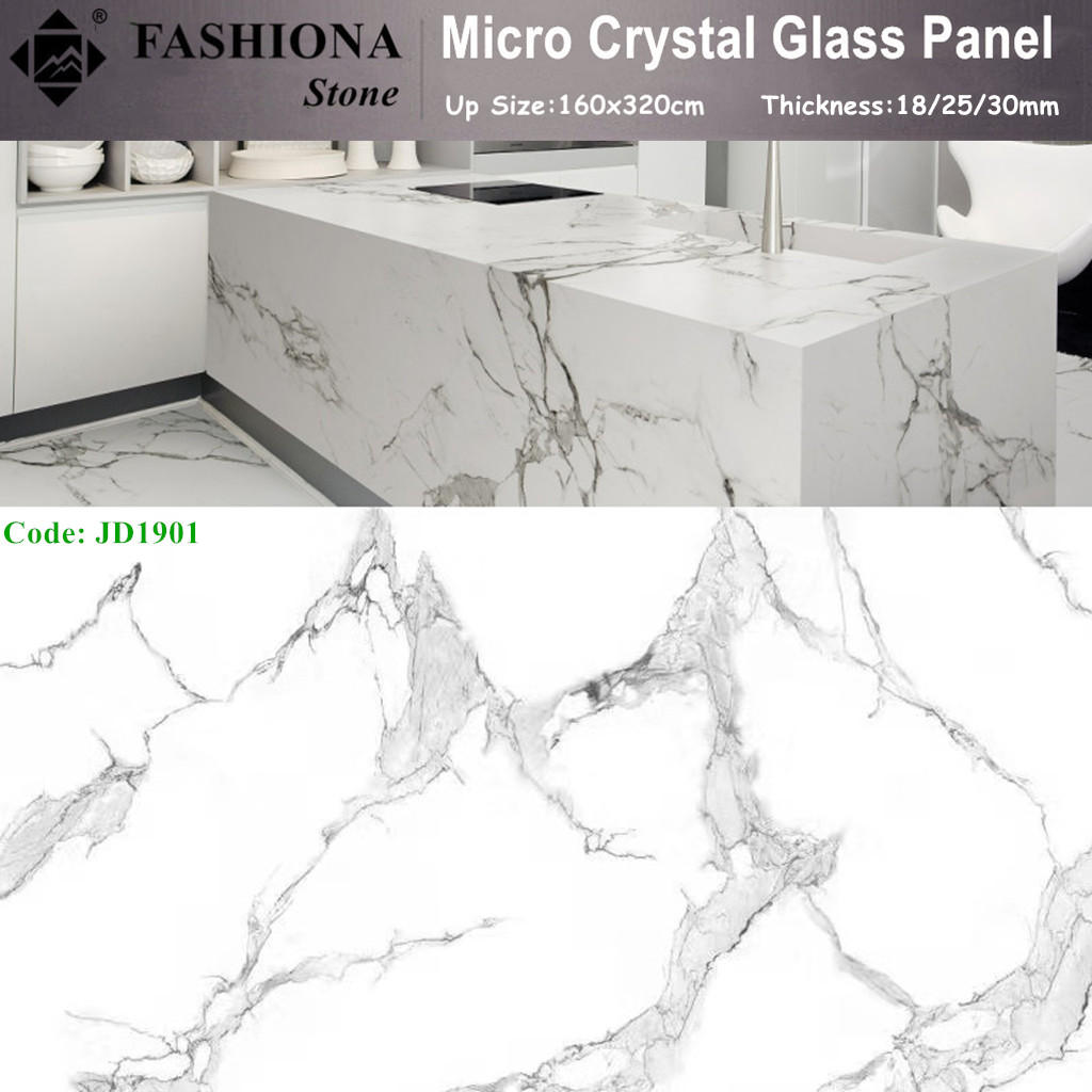 Micro Crystal Glass Stone Artificial Stone for Countertops