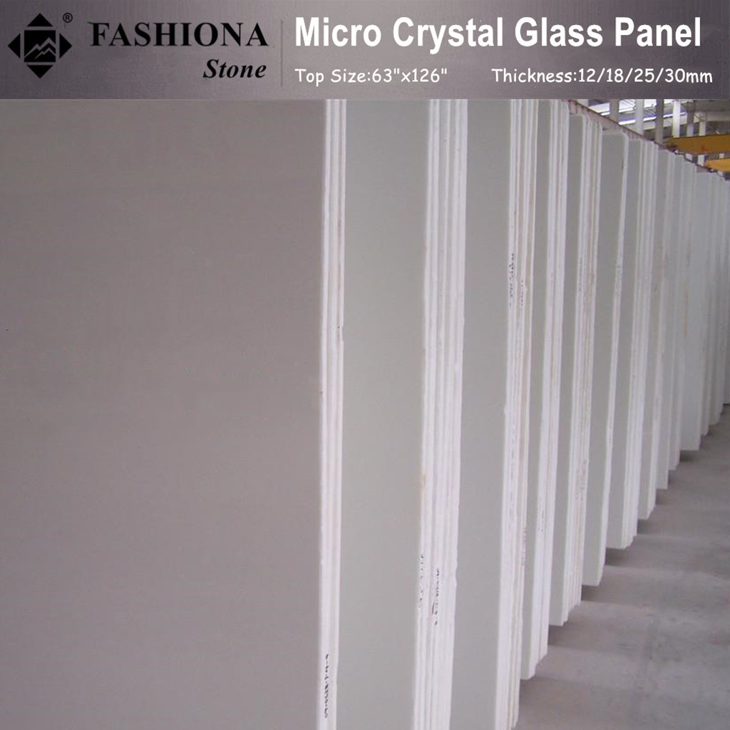 Micro Crystal Glass Stone Slabs from Chinese Supplier