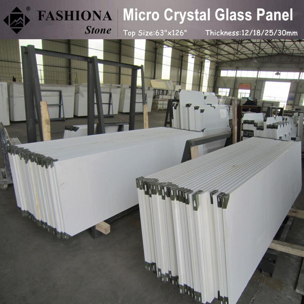 Micro Crystal Glass Stone Slabs