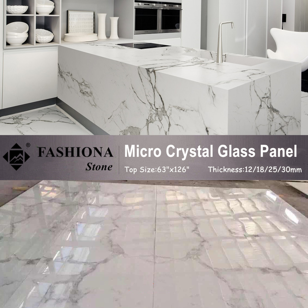 Micro Crystal Glass Stone for Kitchen Countertops
