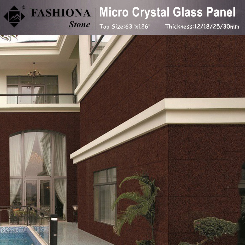 Micro Crystal Glass Stone for Walling
