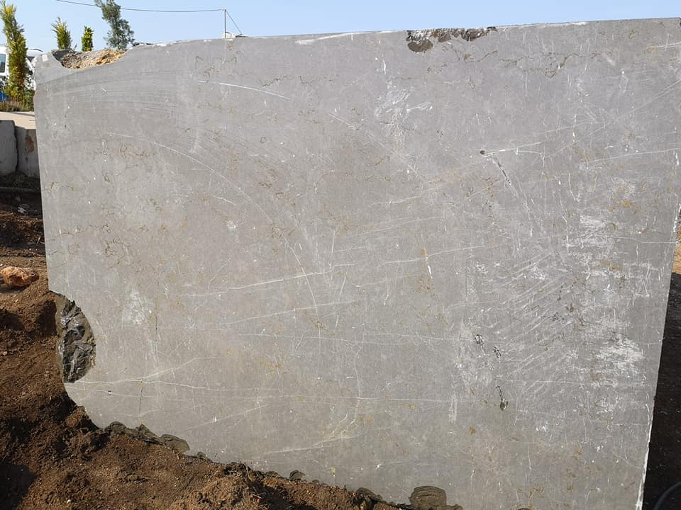Milano Grey Marble Blocks from Turkey