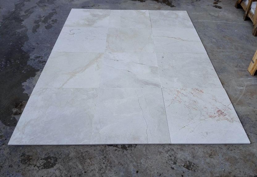 Milky Venetian Marble Tiles White Flooring Marble Stone Tiles