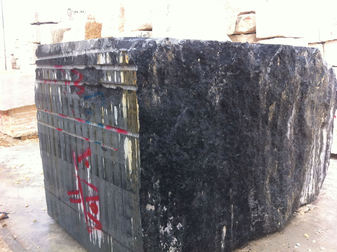 Millie Grey Marble Blocks from Egypt