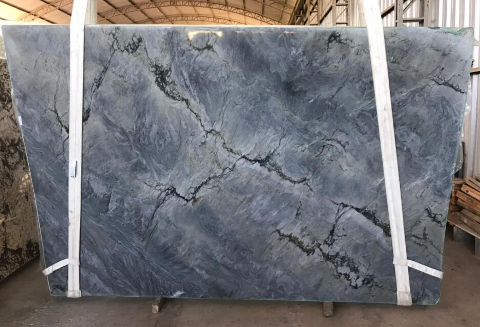 Misty Blue Quartzite Stone Slabs Premium Quartzite Slabs