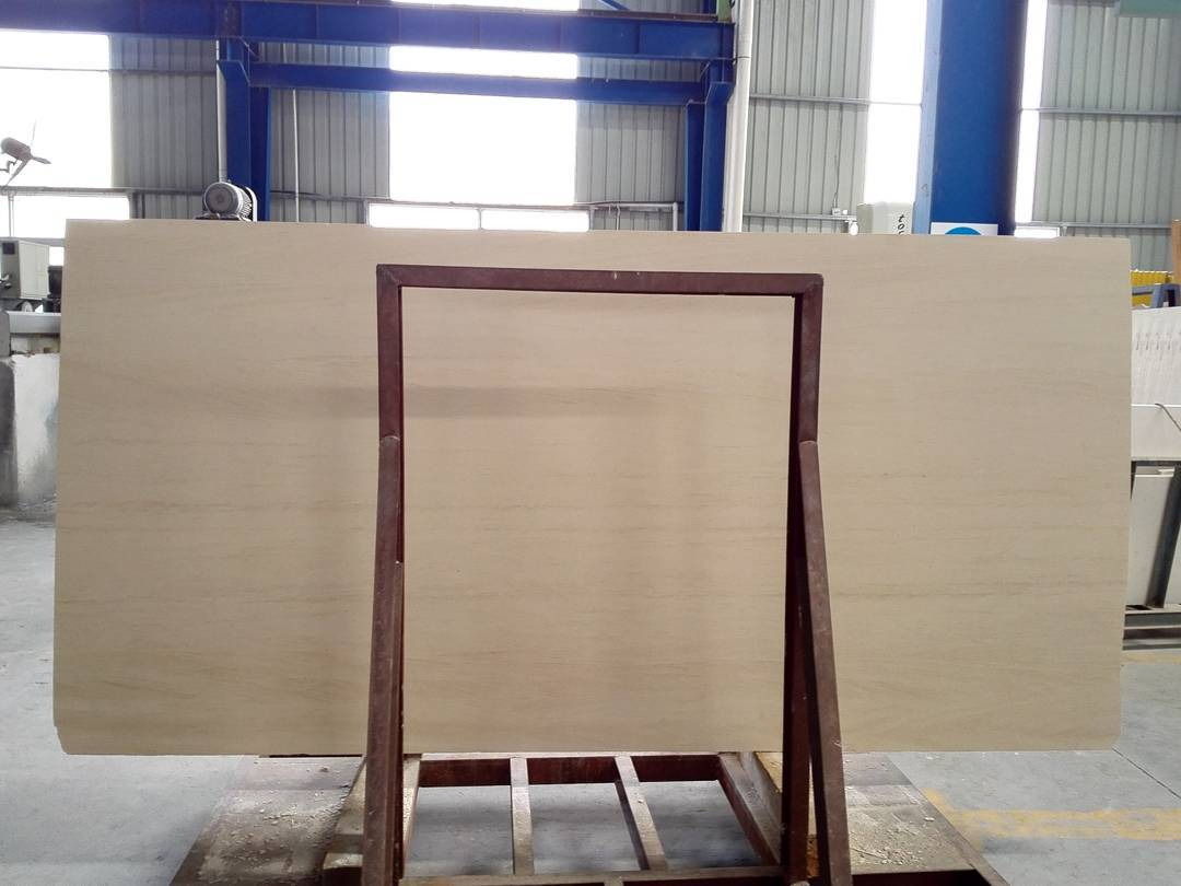 Moca Cream Limestone Slabs Polished Beige Limestone Slabs