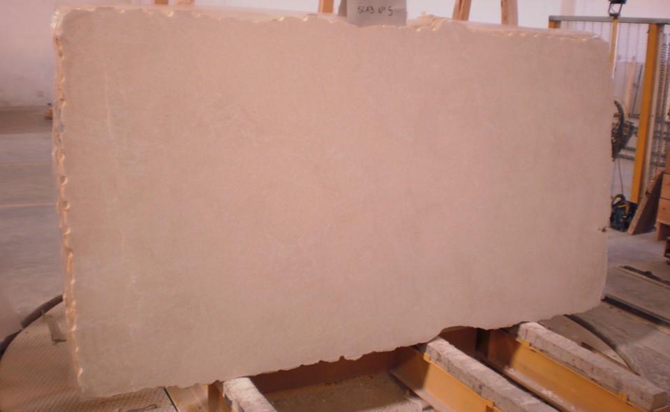 Moca Stone Slabs Beige Limestone Sandblasted Slabs