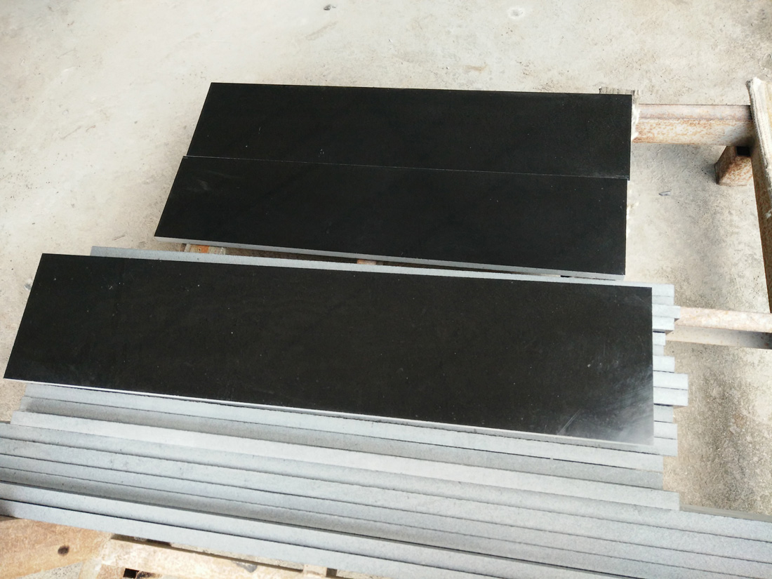 Monglia Black Basalt Stairs and Steps