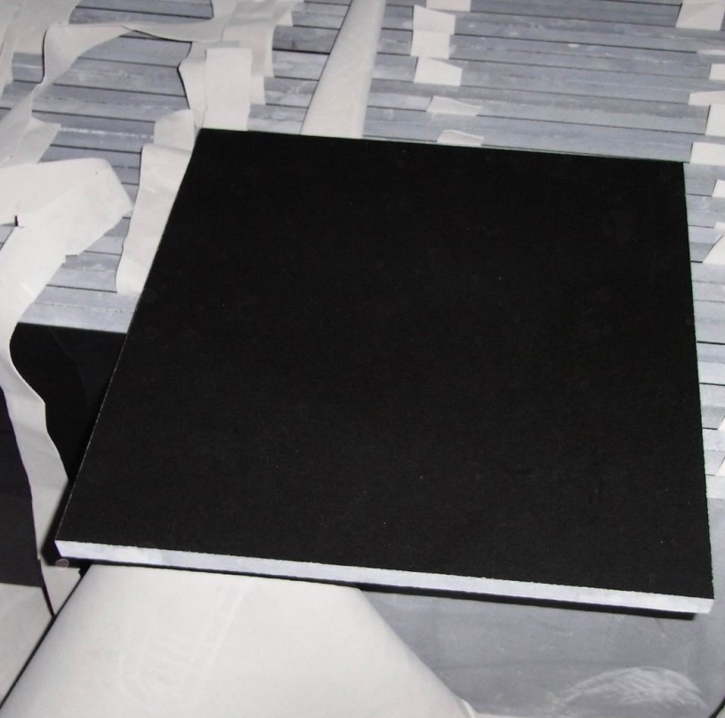 Mongolia Black Granite Tiles Nice Materials for Flooring