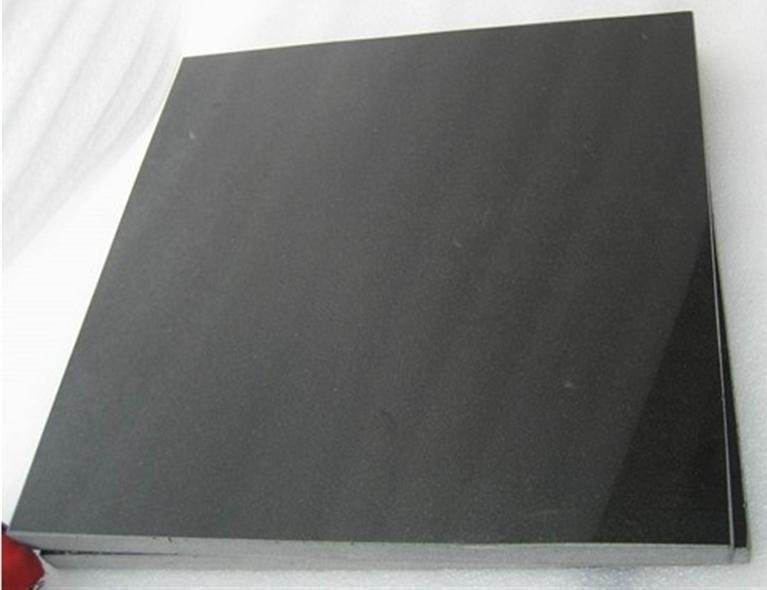 Mongolia Black Tile Polished Granite Black Tiles