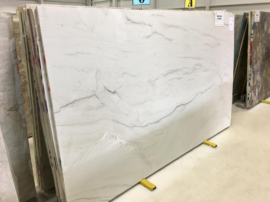 Mont Blanc Leathered Quartzite White Quartzite Slabs
