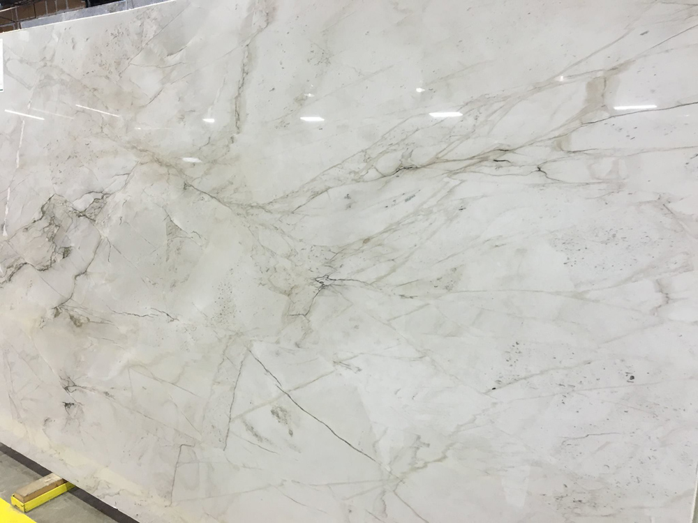 Mont Blanc Quartzite Polished Slabs White Stone Slabs