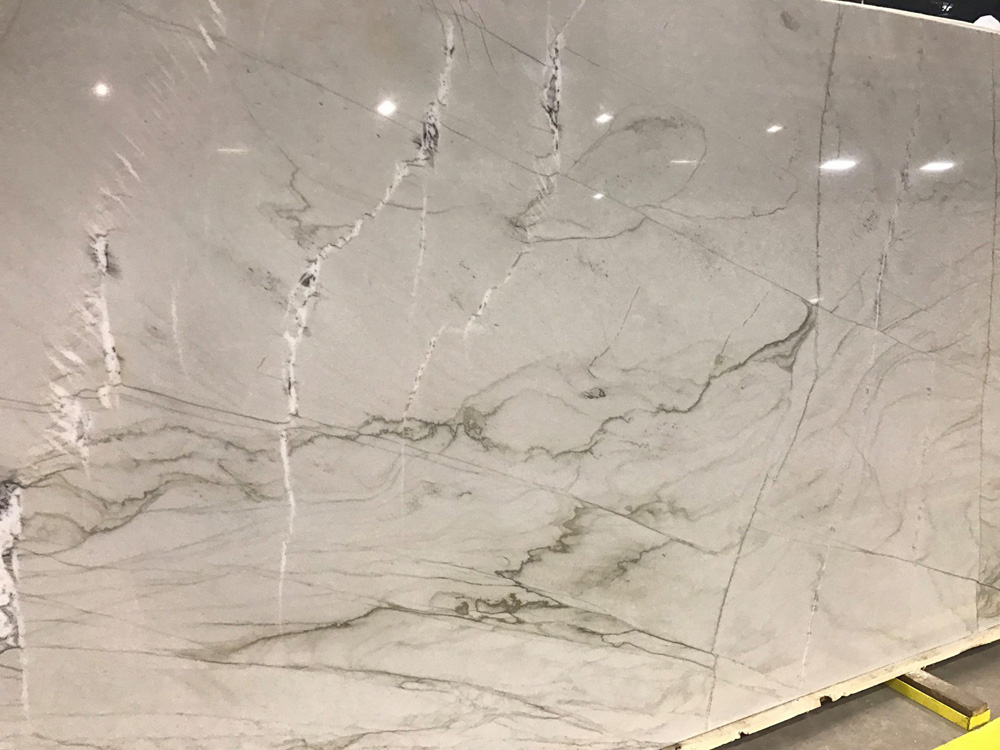 Mont Blanc Quartzite Slab Polished White Quartzite Slabs