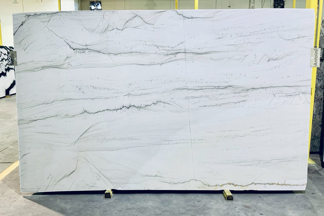 Mont Blanc Quartzite Slabs Top Quality White Quartzite Slabs