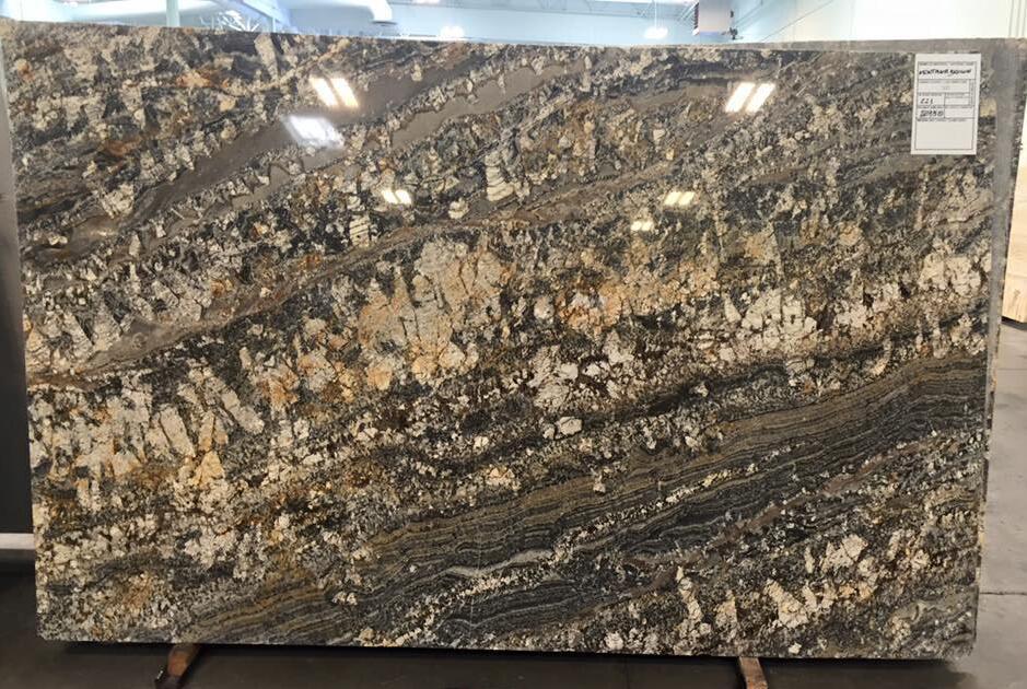 Montana Brown Granite Polished Big Slabs