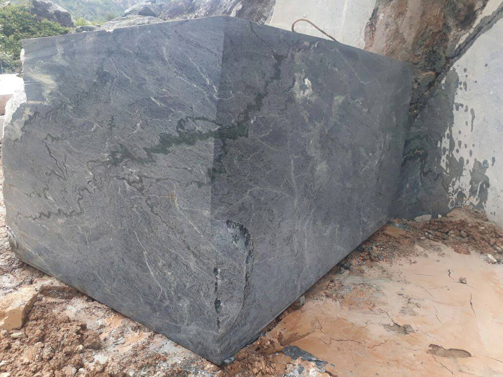 Montana Marble Black Natural Marble Blocks