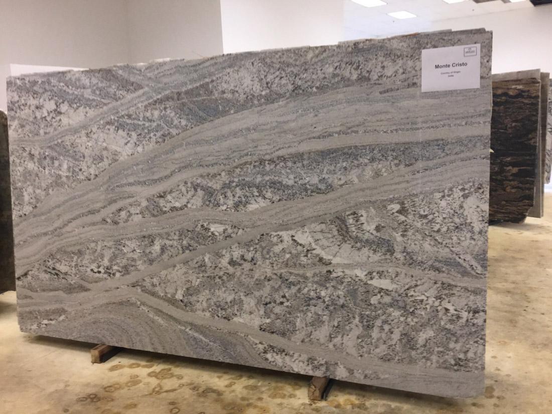 Monte Cristo Grey Granite Slabs