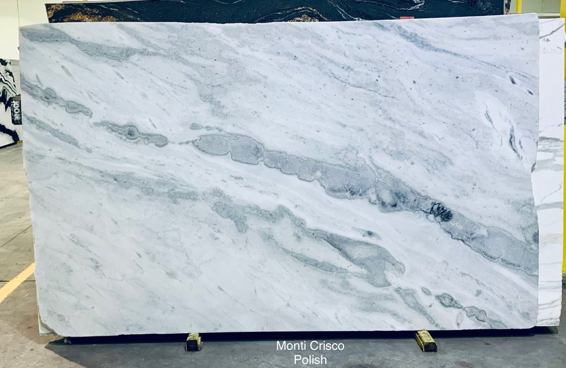 Monti Crisco Marble Slabs Namibia Polished White Marble Slabs