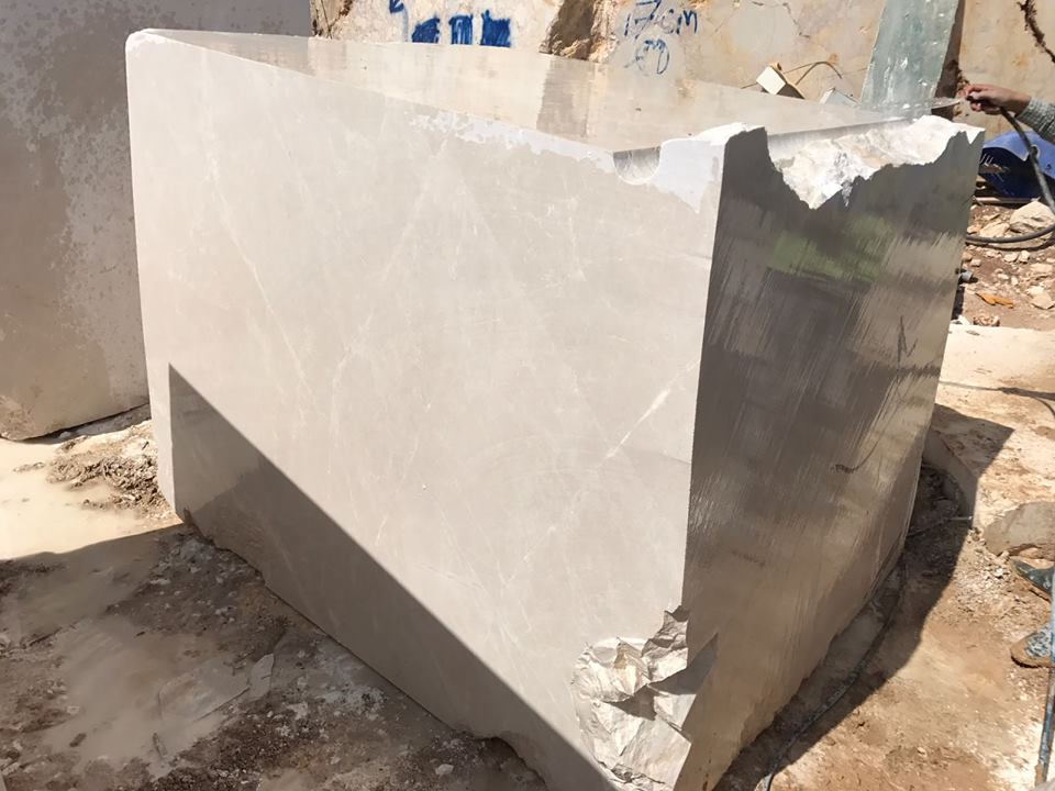 Moon Cream Turkish Beige Marble Blocks