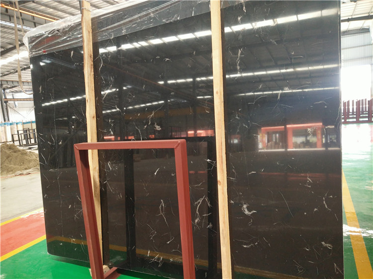 Mooney Black Marble Slabs High Quality Black Marble Slabs