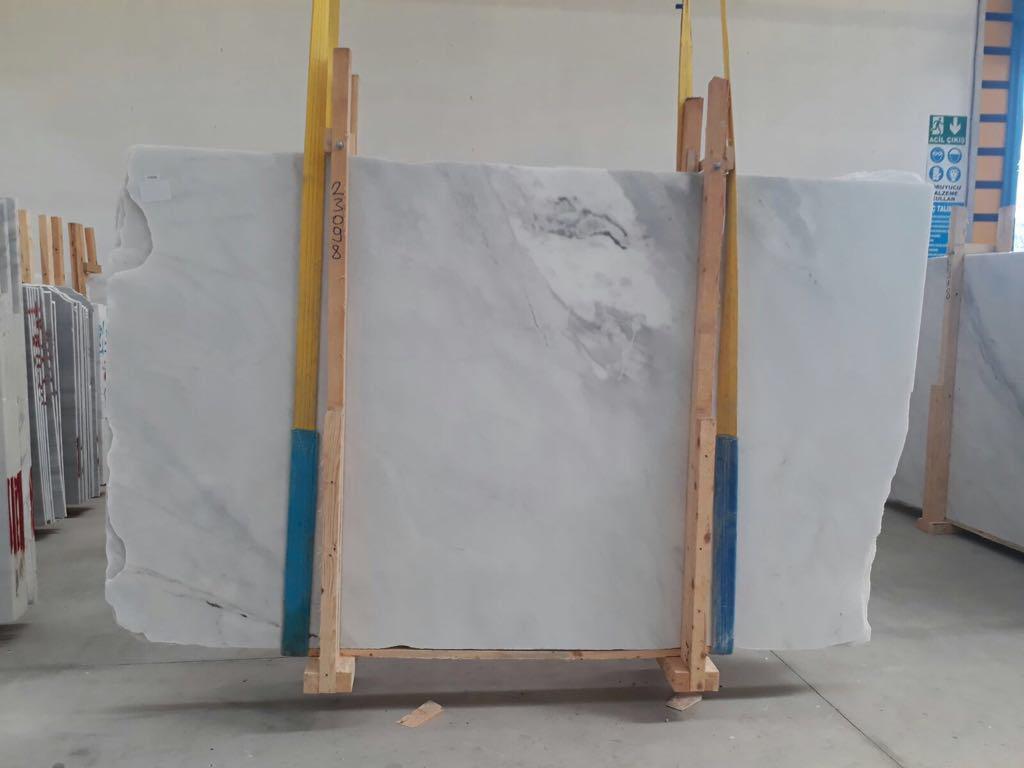 Mugla White Marble Polished Marble Slabs